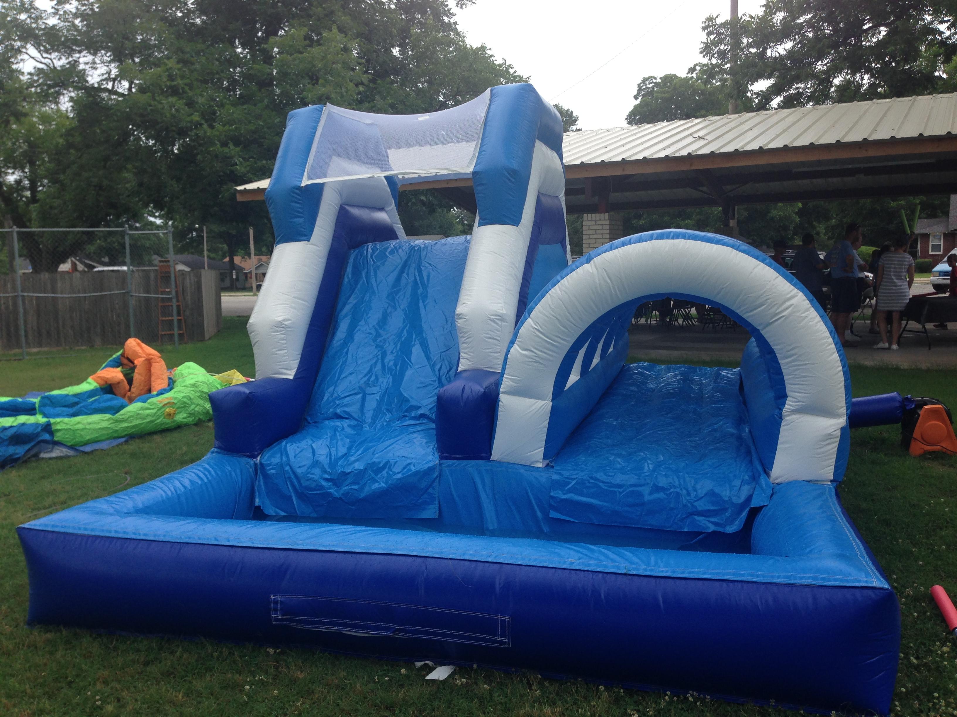 ultime tendenze del 2019 negozio online la più grande selezione del 2019 12ft Combo Water Slide w/ Slip n Slide » Kids Play Rentals