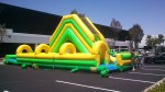 Combo Water Slide with Slip n Slide - 50'L - 16'W - 21'H