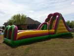 Double Slide Obstacle - 50'L - 10'W - 16'H